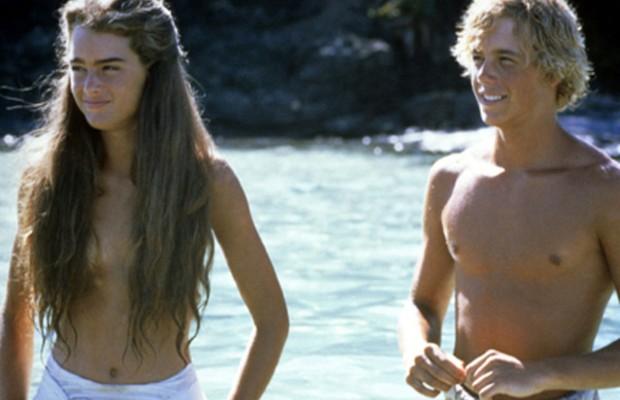 Brooke Shields e Christopher Atkins em A lagoa azul (Foto: Divulgação/Columbia Pictures)