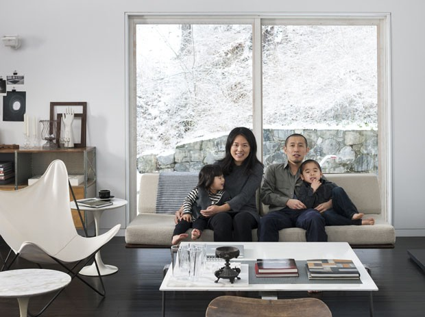 Casa Takaaki e Christina Kawabata  (Foto: Bruce Buck / The New York Times )