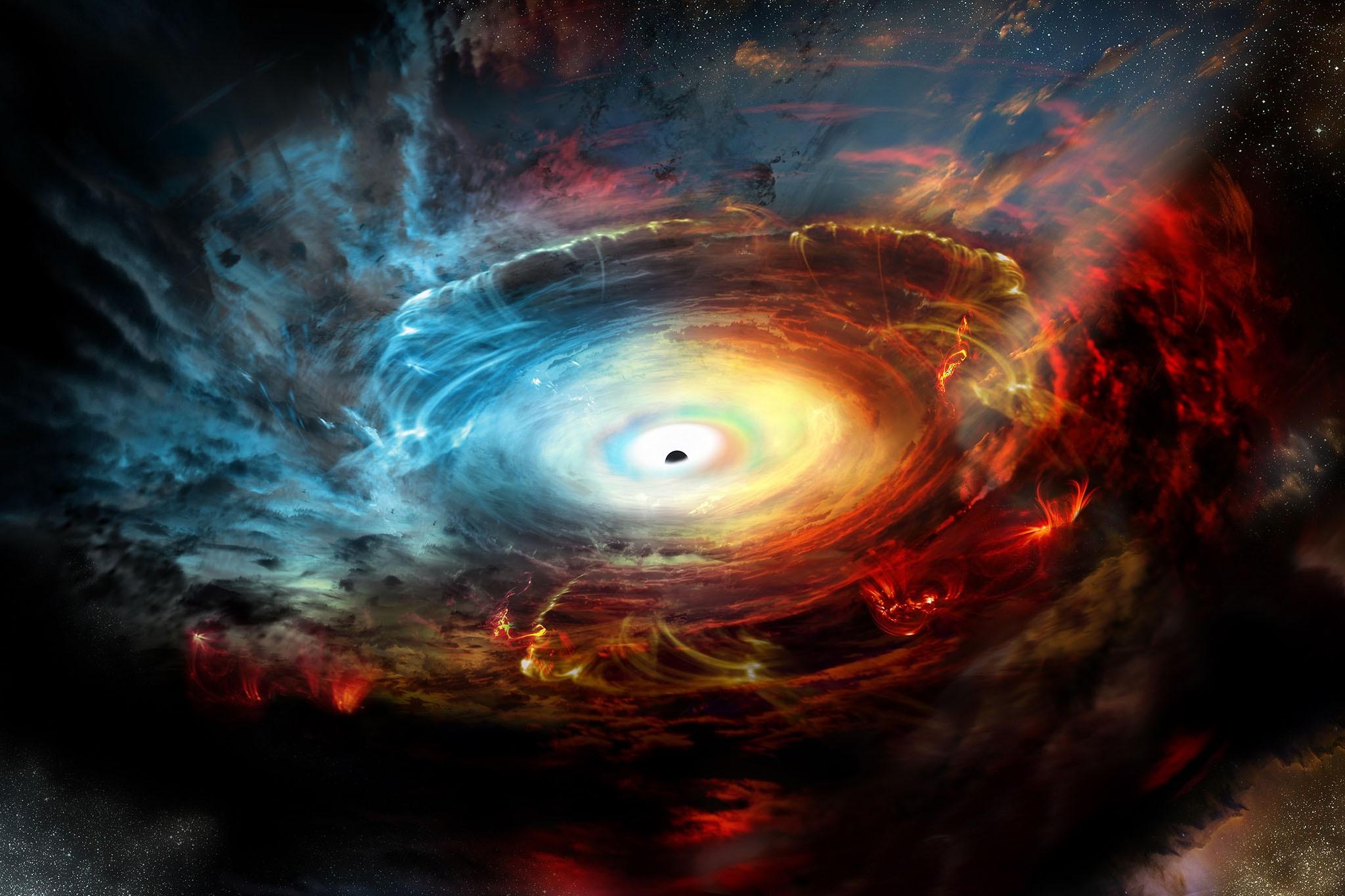 A primeira imagem de um buraco negro pode ser divulgada em 2018