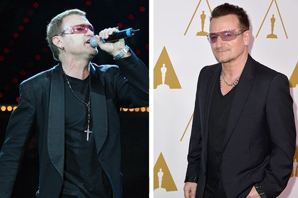 Pavel Sfera é sósia de Bono Vox (Foto: Getty Images)