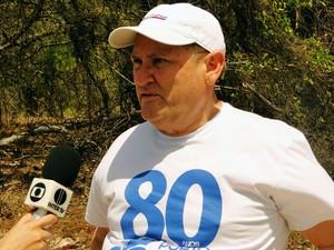 Pedro Terceiro de Melo, presidente da Companhia Docas do Rio Grande do Norte (Codern) (Foto: Ricardo Araújo/G1)
