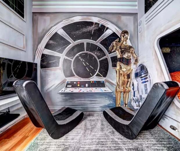 Princesas e Jedis (Foto: Reprodução Airbnb)