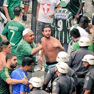 Palmeiras x Chapecoense PM torcida (Foto: Tossiro Neto)