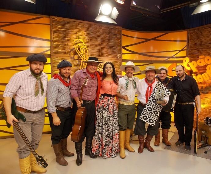 Galpão Crioulo Jorge Freitas Troféu Origens (Foto: Nice Sordi/RBS TV)
