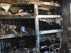 Imagens mostram como ficou interior de escola incendiada em Itaboraí, RJ