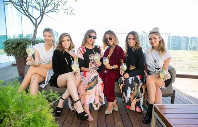 Tali Bueno, Layla da Fonseca, Lu D'Angelo, Jade Seba, Patricia Bonaldi e Kelly Correa (Foto: Camila Uchoa)
