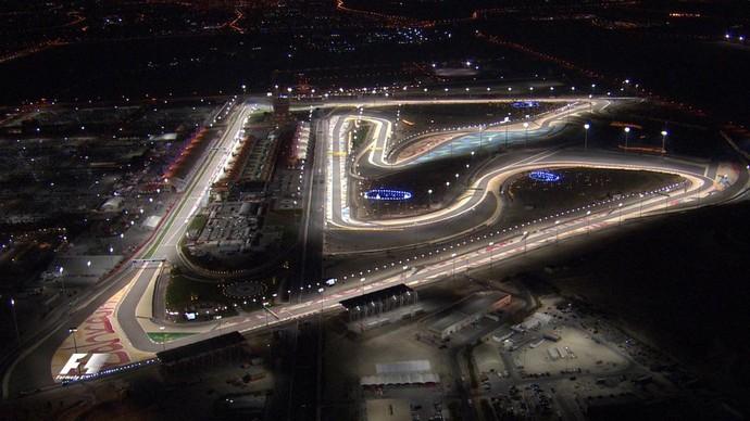 Circuito Internacional do Bahrein, palco do GP do Bahrein (Foto: Divulgação)