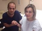 Urach recebe visita de médico que a acompanhou em Porto Alegre