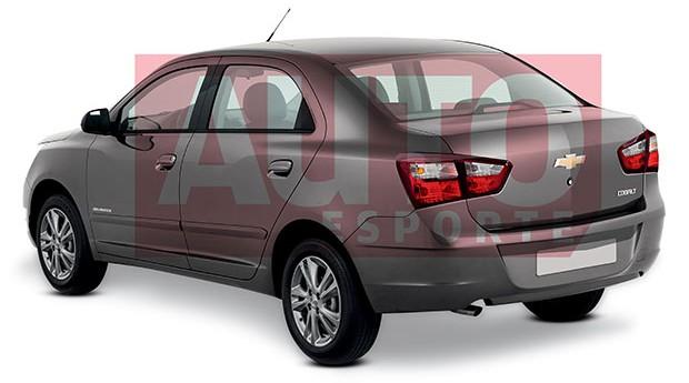 Chevrolet Cobalt facelit (Foto: Renato Aspromonte/Autoesporte)