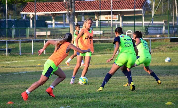 Sâmia Pryscila São José futebol feminino (Foto: Danilo Sardinha/GloboEsporte.com)