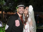 Carol Nakamura e Sidney Sampaio se casam em festa julina: 'Aquecimento'