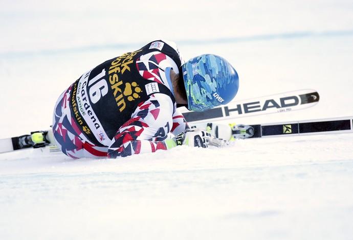 Matthias Mayer acidente copa do mundo de esqui campeão olímpico (Foto: Reuters)