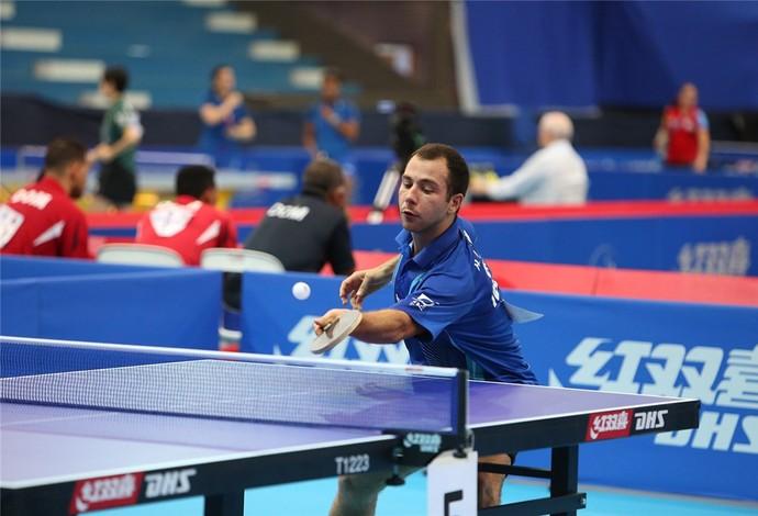 Humberto Manhani tenis de mesa (Foto: Divulgação/CBTM)