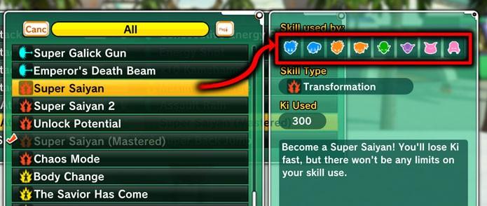 Skills for Everyone (Foto: Reprodução/Xenoverse Mods)