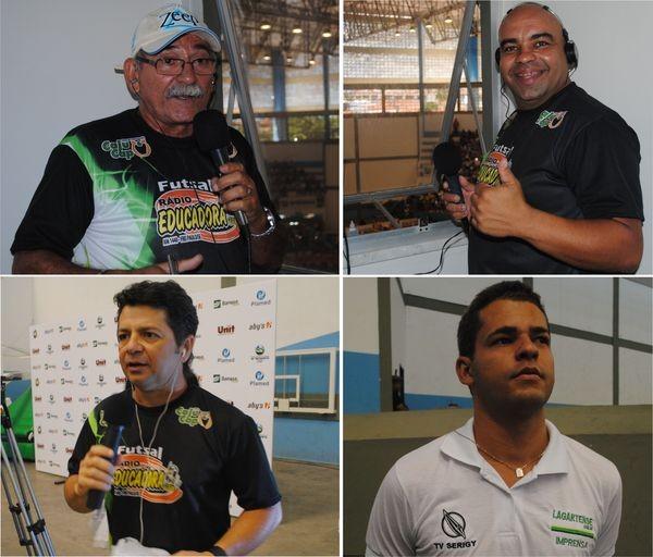 Radialistas (Foto: TV Sergipe/Divulgação)