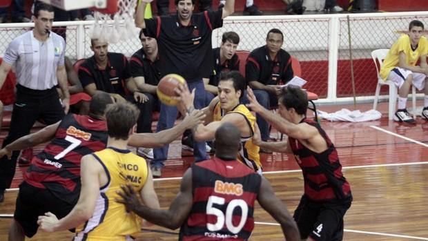 NBB São José x Flamengo (Foto: Ronny Santos / Divulgação)