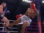 Cena forte! Lutador tem lesão parecida a de Spider em evento de kickboxing