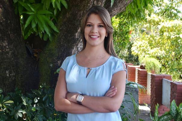 Tâmara Oliveira apresenta o GE Sergipe (Foto: Divulgação/TV Sergipe)