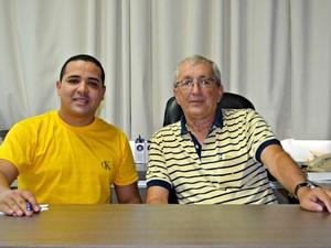 Diretor de ensino, Manoel de Jesus, e diretor, Evaristo de Luca, garantem que o método será intensificado em 2015 (Foto: Caio Fulgêncio/G1)