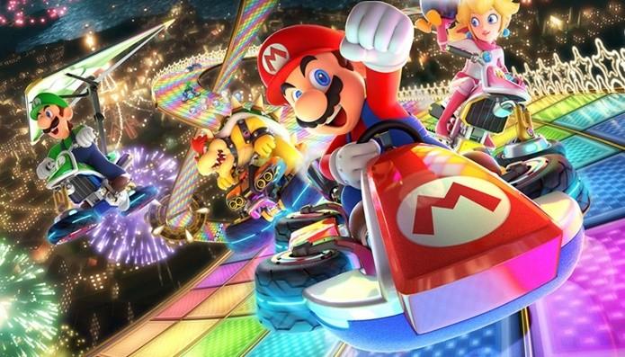 Relançamento de Mario Kart 8 traz novos personagens e controles repaginados (Foto: Divulgação/Nintendo)