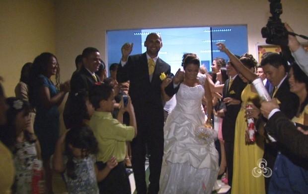 Diego e Domingas se conheceram em 2006 mas só reaproximaram recentemente (Foto: Roraima TV)