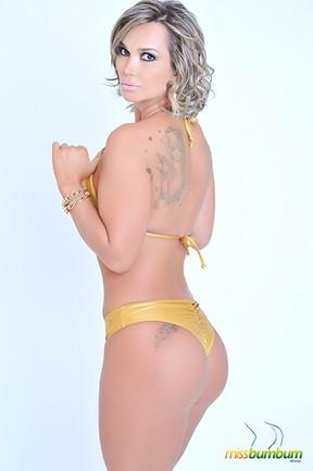 Eliana Amaral, candidata ao Miss Bumbum Brasil 2013 (Foto: Divulgação / Cacau Oliver)
