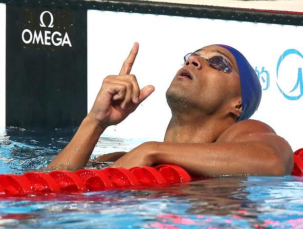João Gomes natação Mundial Barcelona (Foto: Satiro Sodre / SSPress)