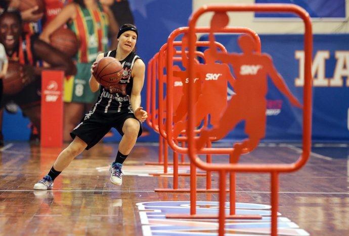 Gretter vence o desafio de Habilidades (Foto: João Neto / LBF)