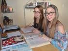 Gêmeas no AP estudam 10h por dia para passar em medicina pelo Enem