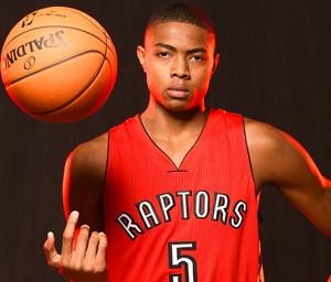 Bruno Caboclo jogador da NBA Raptors (Foto: Getty Images)