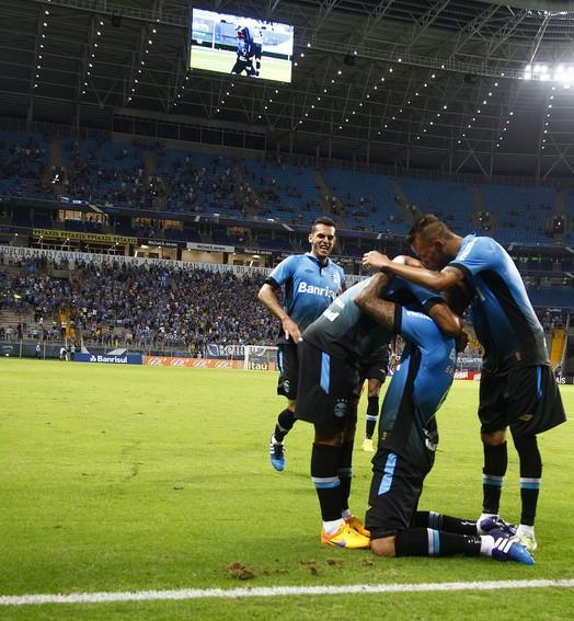 ALÍVIO IMEDIATO (Lucas Uebel/Grêmio, Divulgação)