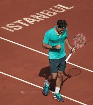 Roger Federer venceu o ATP de Istambul (Foto: Ahmet Bolat / Anadolu Agency)
