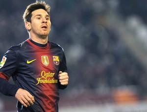 Messi, Cordoba e Barcelona (Foto: Agência AFP)