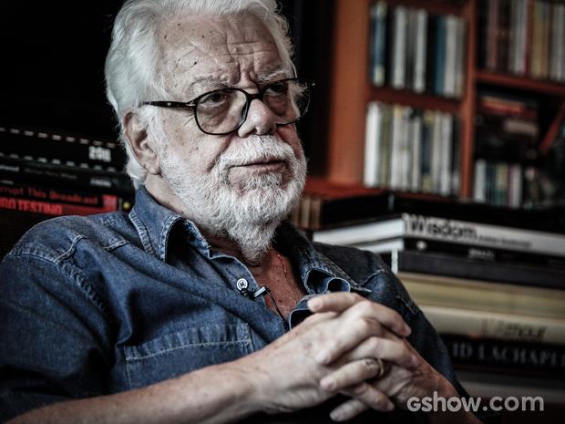 Manoel Carlos procura abordar temas da sociedade na ficção (Foto: Pedro Curi/TV Globo)