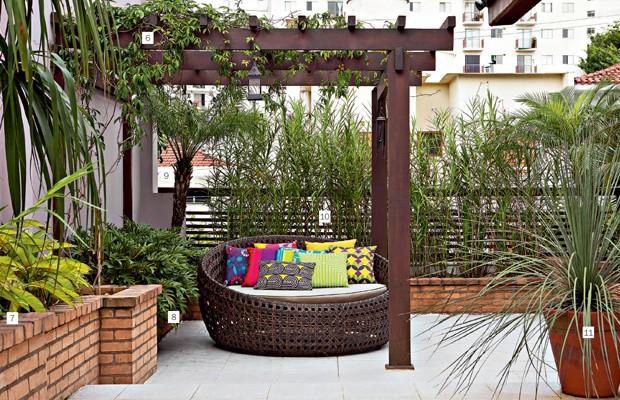 jardim vertical bambu:Jardins limítrofes – Casa e Jardim
