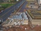 Ventos ultrapassaram 100km/h em Campinas; prefeito pede paciência