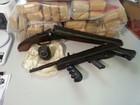 Polícia prende 164 pessoas, 39 kg de drogas e armas em operação no litoral