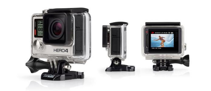 GoPro HERO4 Silver é a primeira câmera da marca com visor (Foto: Divulgação) (Foto: GoPro HERO4 Silver é a primeira câmera da marca com visor (Foto: Divulgação))