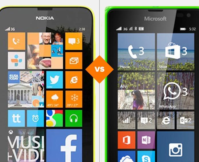 Lumia 635 x Lumia 640: qual o melhor smartphone?  (Foto: Arte/TechTudo)