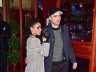 Robert Pattinson curte festa com a namorada, FKA Twigs