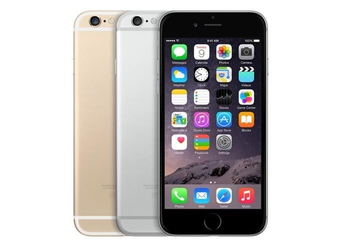 iPhone 6 tem leitor de digitais Touch ID como diferencial, além de aplicativos da Apple (Foto: Divulgação/Apple) (Foto: iPhone 6 tem leitor de digitais Touch ID como diferencial, além de aplicativos da Apple (Foto: Divulgação/Apple))