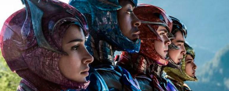 Kimberly, Billy, Jason, Zack e Trini no novo 'Power Rangers' (Foto: Divulgação)