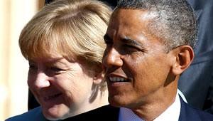 O presidente dos EUA, Barack Obama, e a chanceler da Alemanha, Angela Merkel (Foto: Reuters)