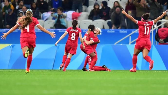 Gol Canadá (Foto: Marcos Ribolli)
