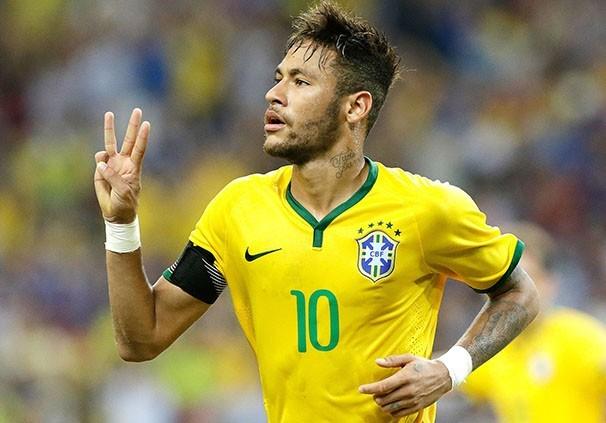 O atacante Neymar está de volta à seleção brasileira (Foto: AP/reprodução Globoesporte.com)