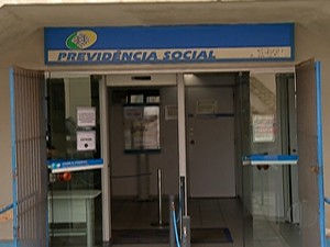 Pelo menos 30% dos funcionários do INSS de Itaquaquecetuba adediram a greve (Foto: Reprodução/ TV Diário)