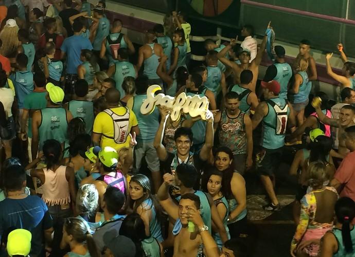 Bloco Swingaê Carnatal 2015 Grafith (Foto: Augusto Gomes/Gshow)