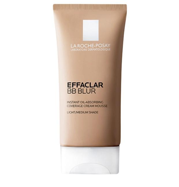 Effaclar BB Blur, La Roche Posay  (R$ 129,90) – possui ativos que controlam a oleosidade por até nove horas. uniformiza a pele em questão de segundos. (Foto: Divulgação)