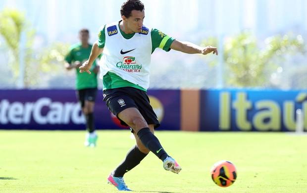 Leandro damião brasil treino (Foto: Wander Roberto / Vipcomm)