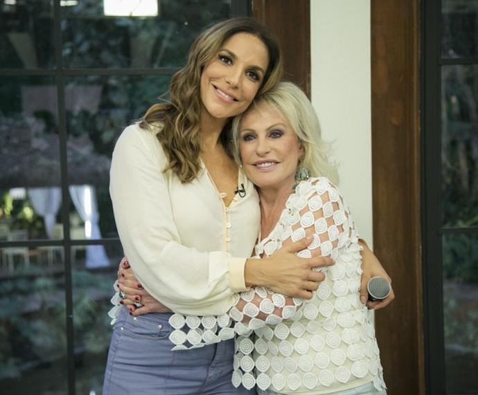 Ivete Sangalo e Ana Maria: divas! (Foto: Raphael Dias/Gshow)